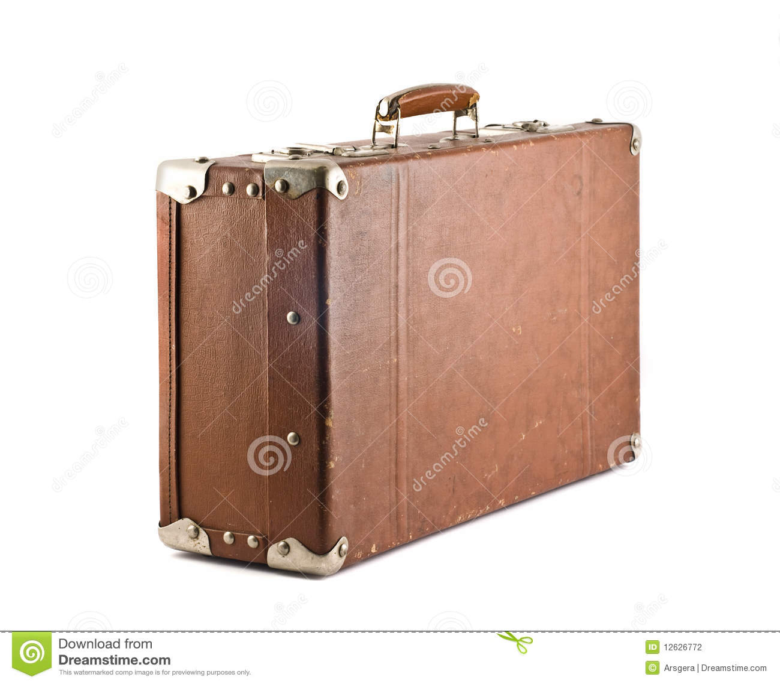 Reis - ouderwetse koffer