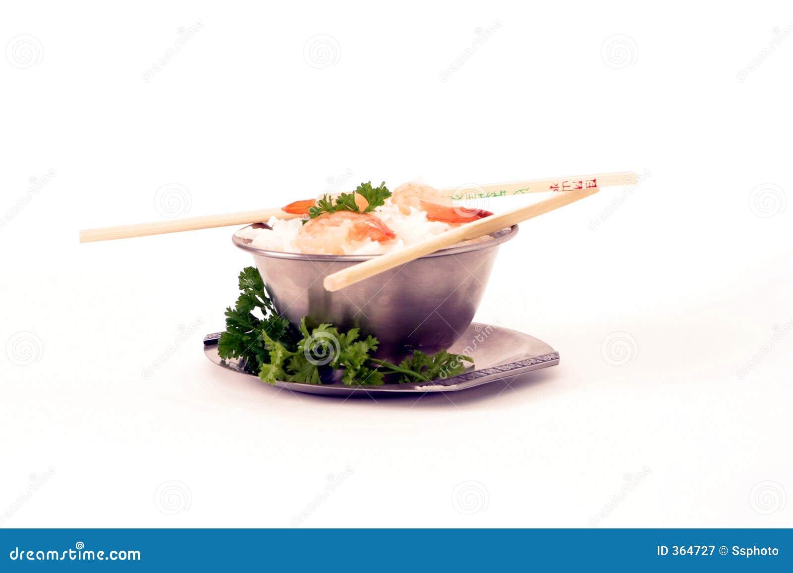 Reis und prawns2