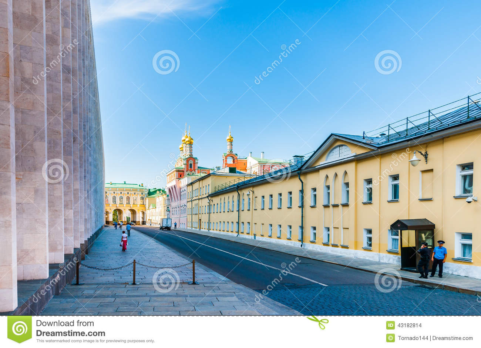 Reis 8 van het Kremlin: Niet-openbaar gebied van het Kremlin