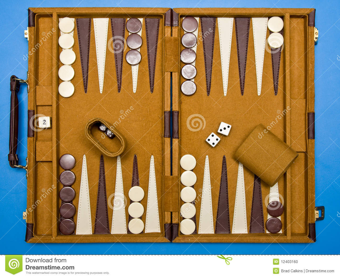 Reise Backgammon