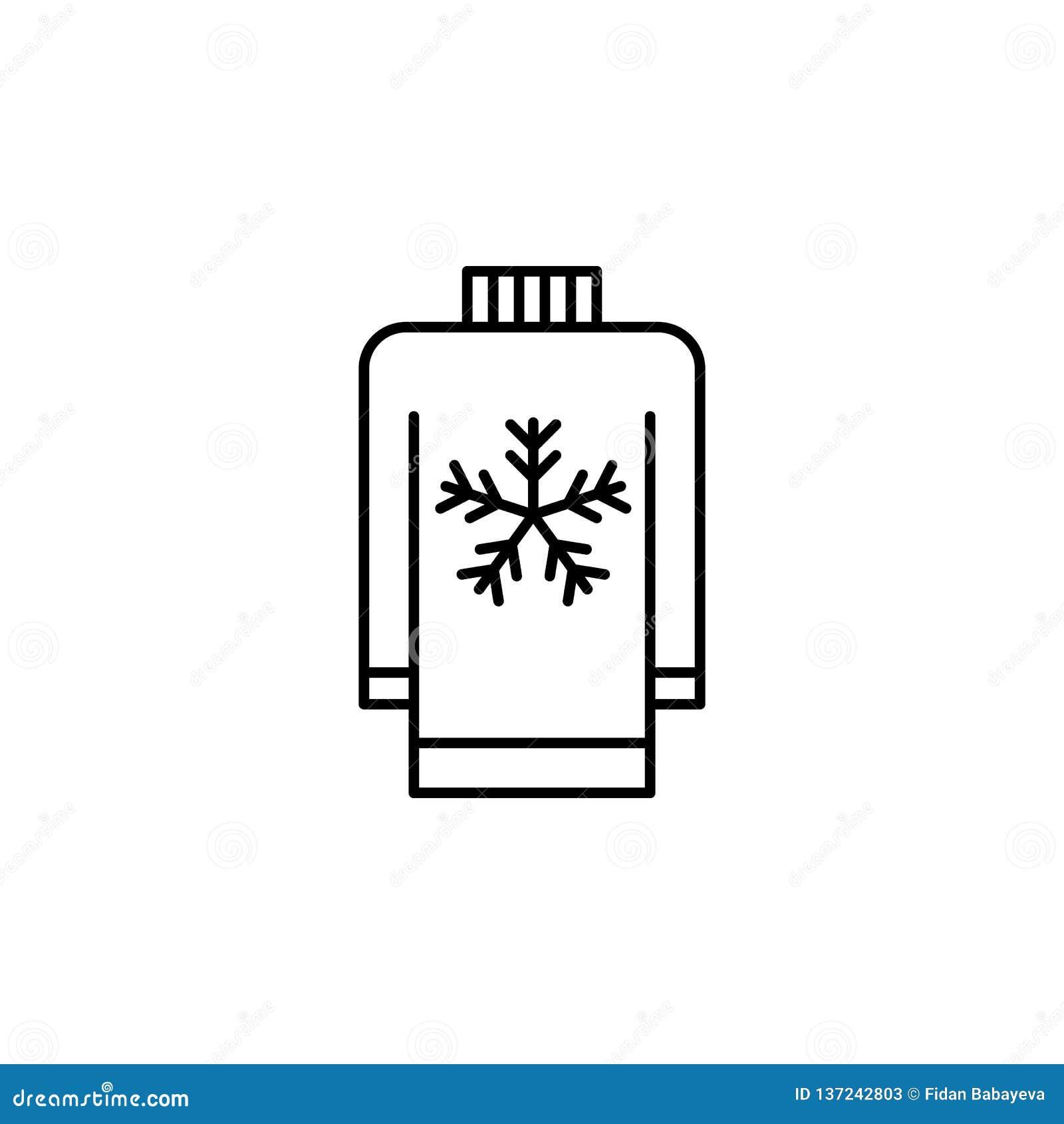 Reise, Schnee, Wolkenentwurfsikone Element der Reiseillustration Zeichen und Symbolikone können für Netz, Logo, mobiler App, UI b