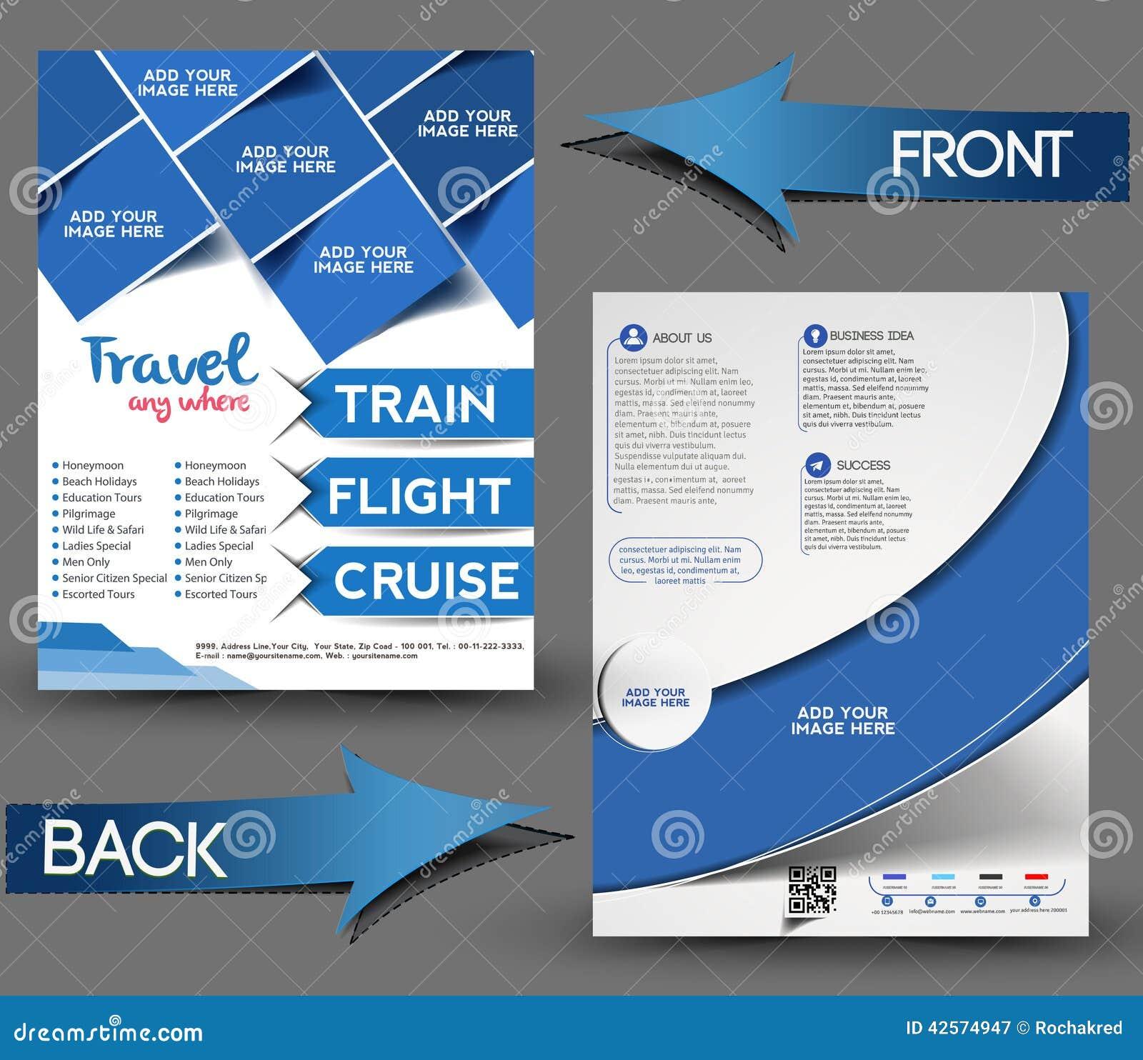 Reise-vorderer u. hinterer Mittelflieger