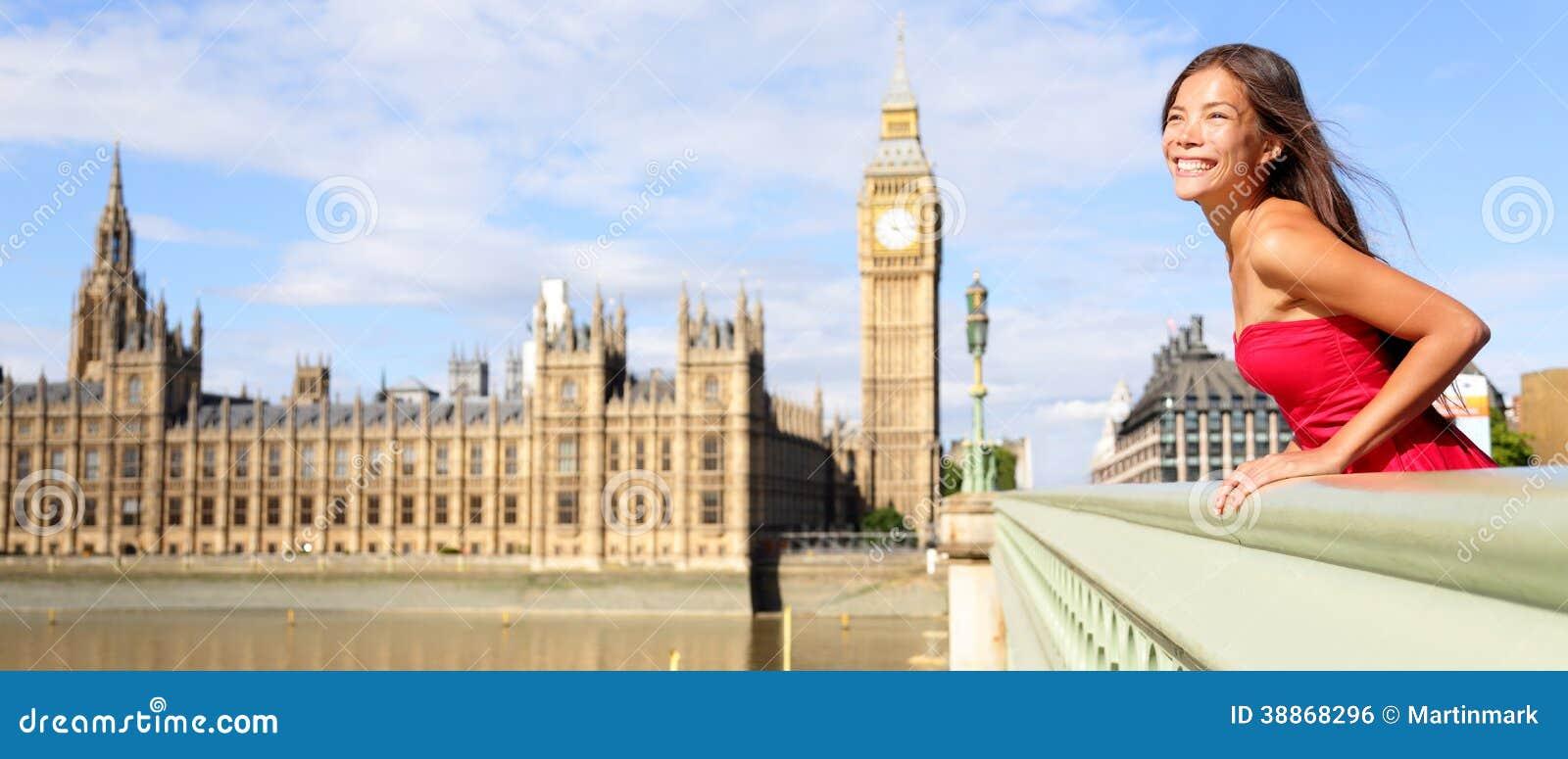 Großes mädchen aus großbritannien