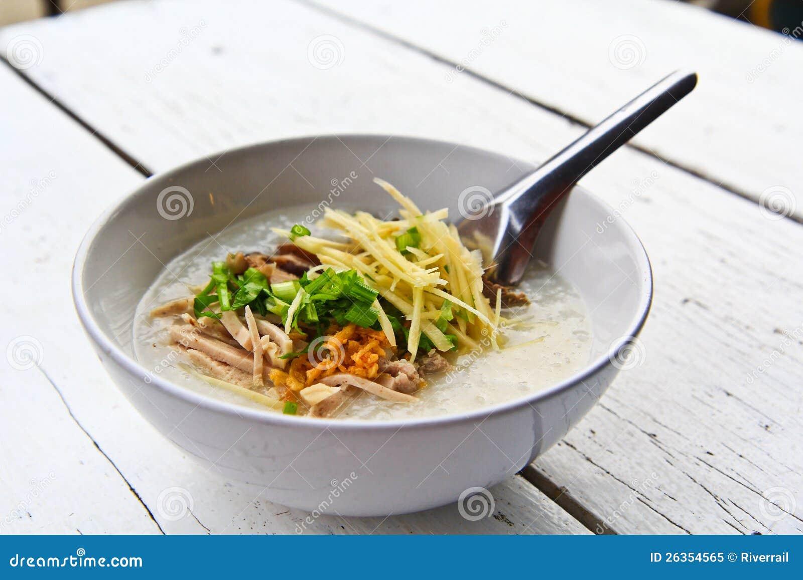 Reissuppemorgen Thailand