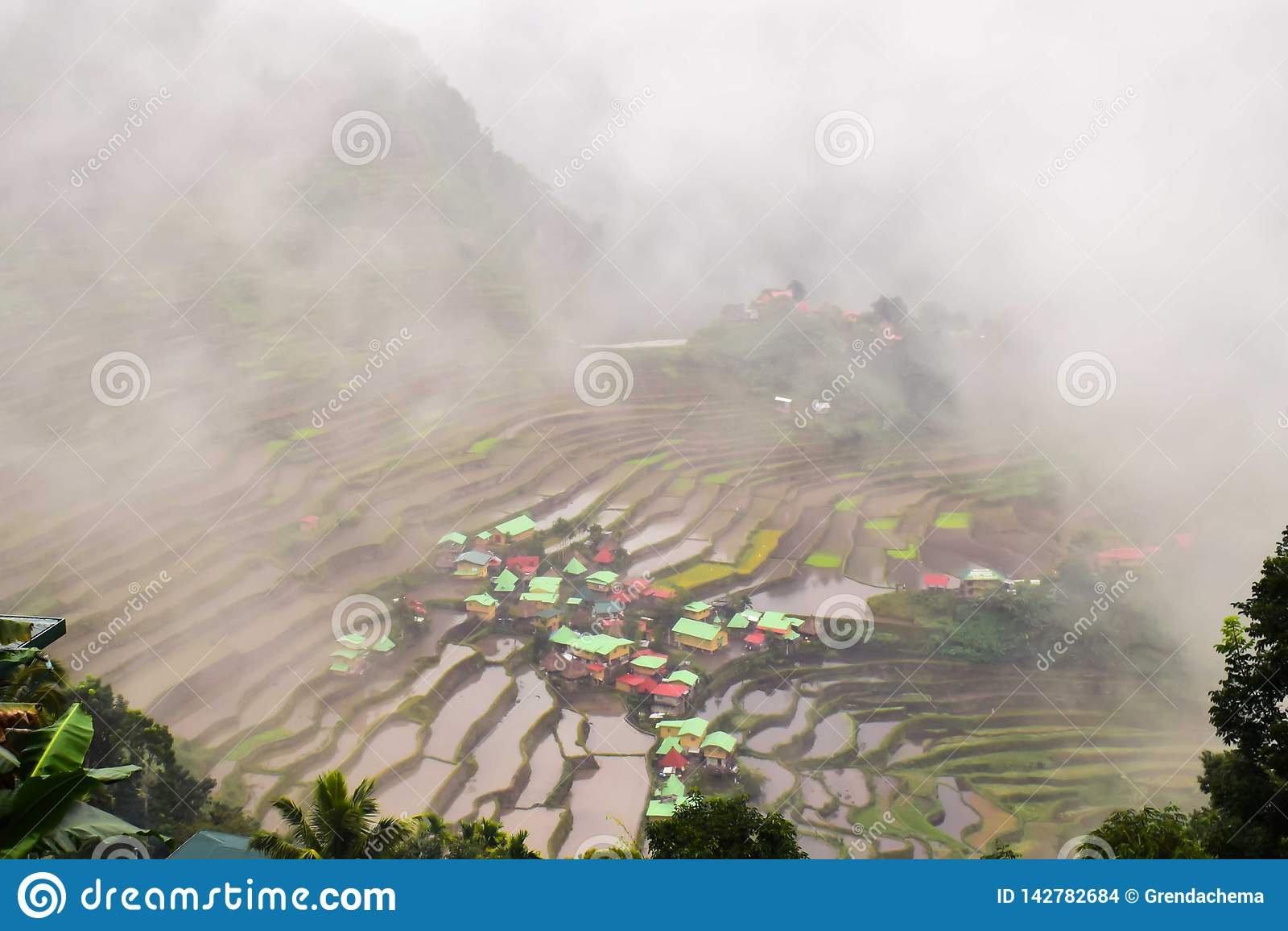 Reisterrassen Batad Banaue