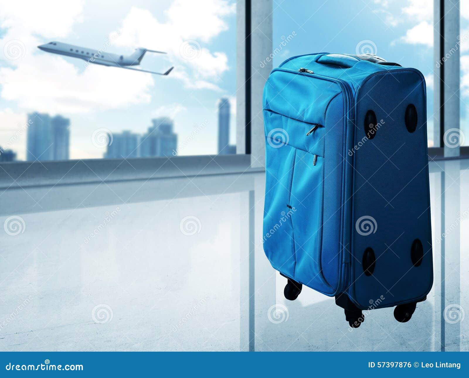 Reiszak op de luchthaven