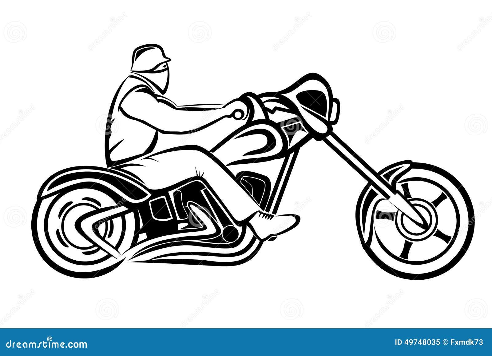 Reiter auf einem Zerhacker