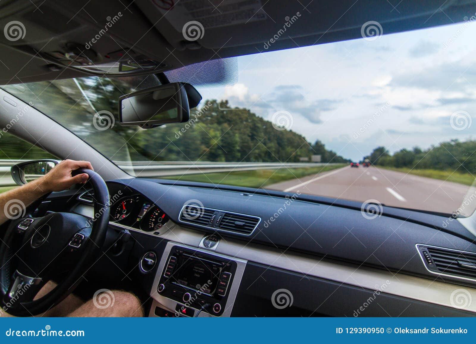Reizend Europa door auto