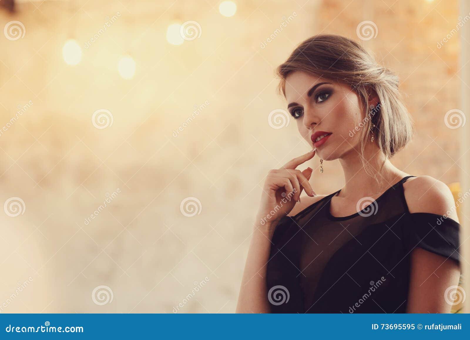 Reizende Frau