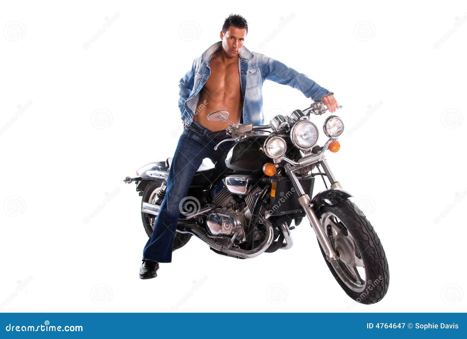 Reizvoller Radfahrer.