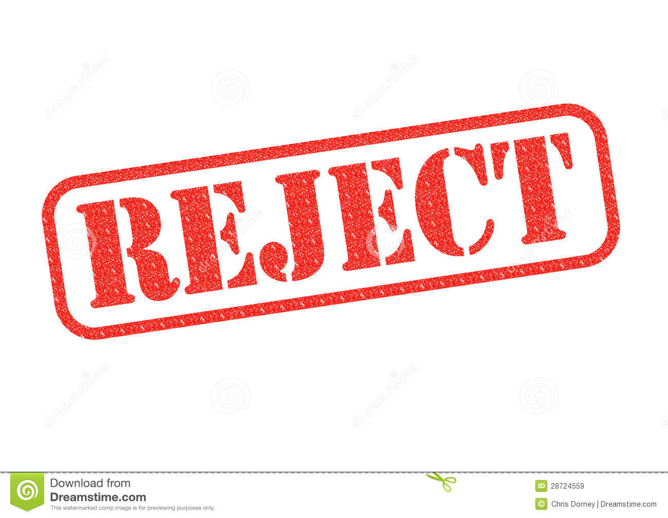 Reject Stock Photography - Image: 32211292