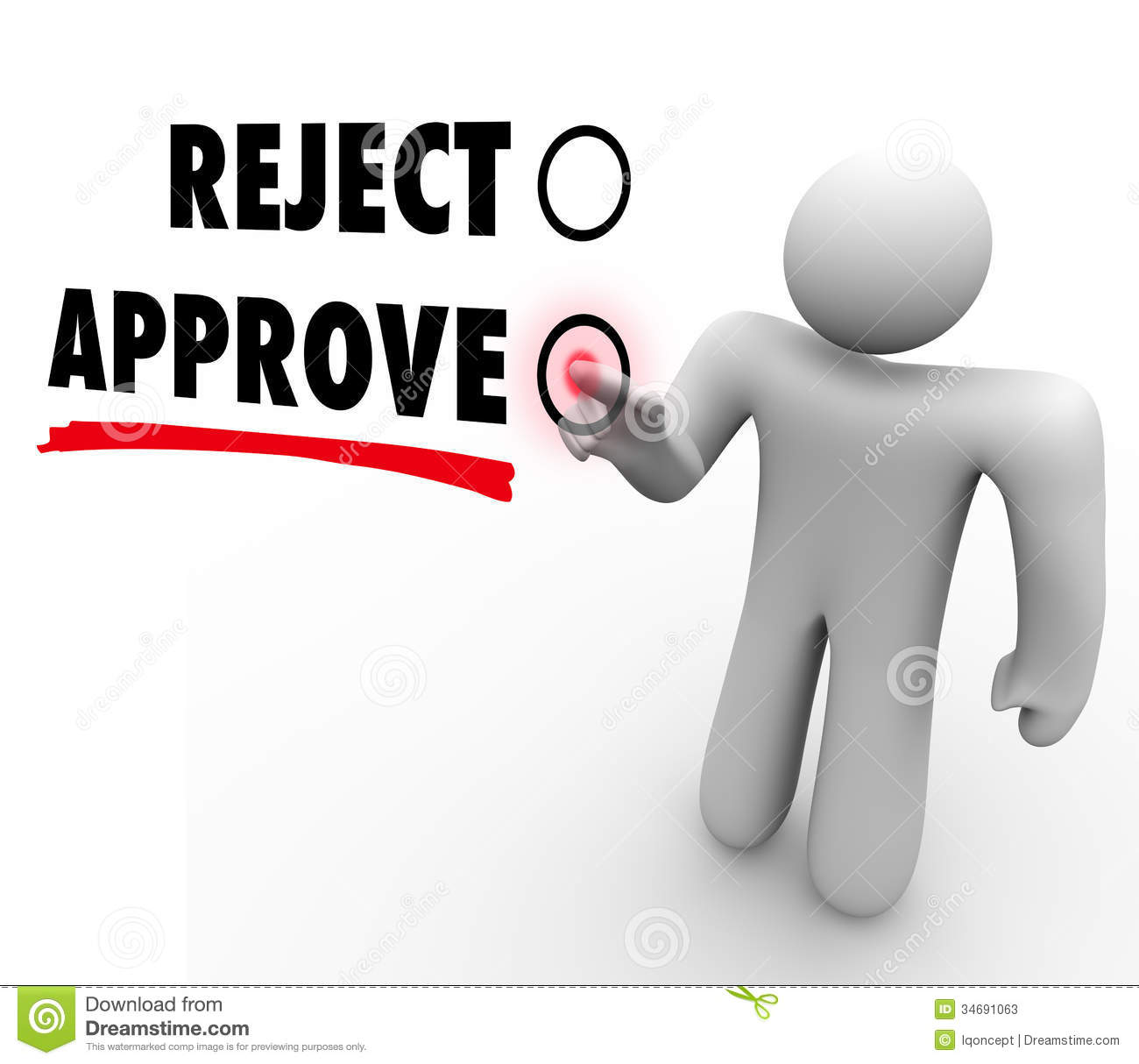 ... with a voter pressing a button for approval of a proposal or question