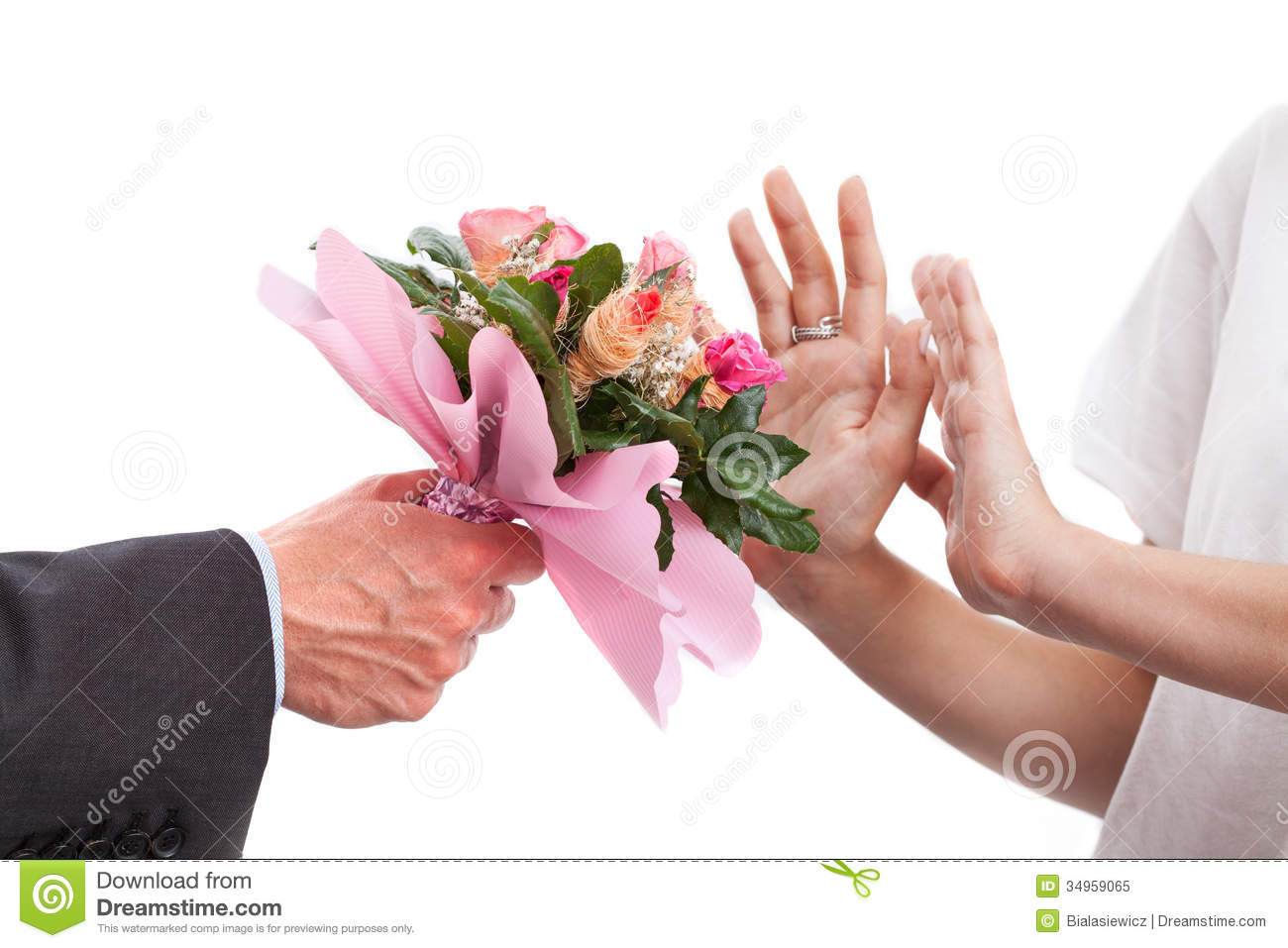 rejected bunch of flowers stock image image of floral 34959065