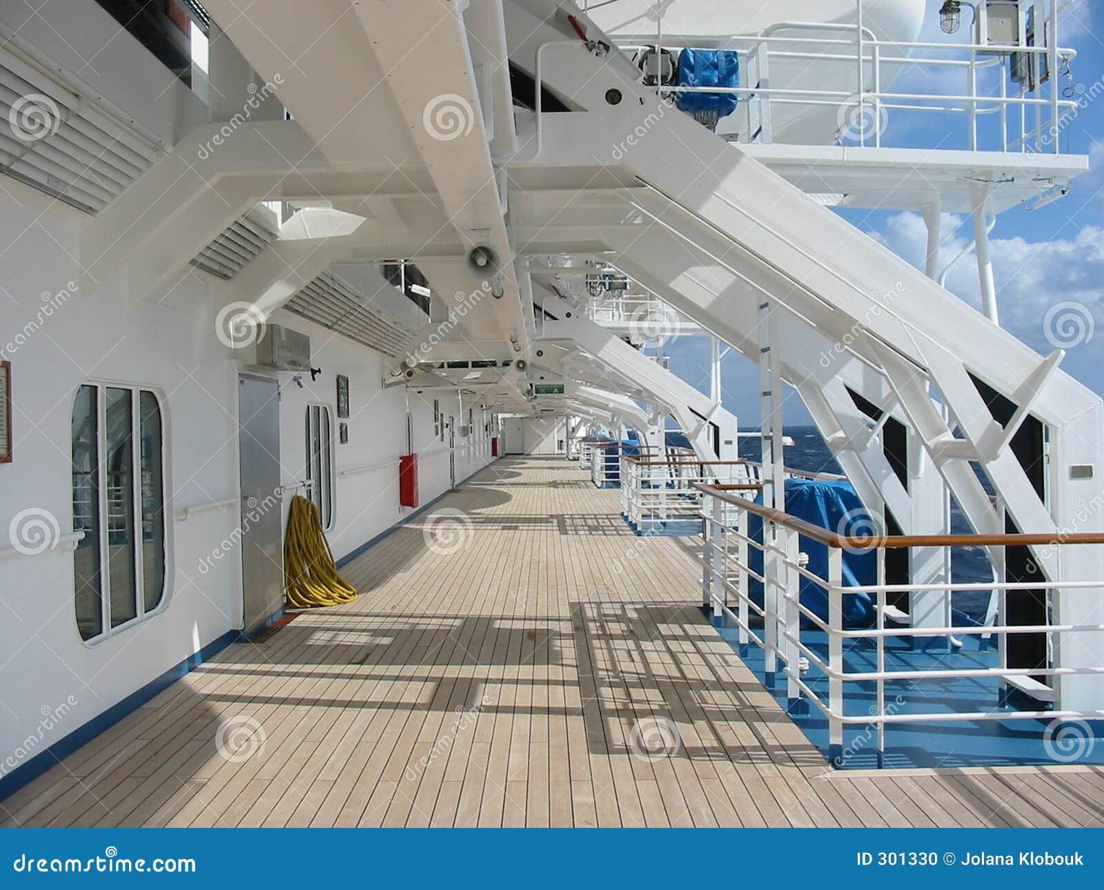 Rejs pokładu statku