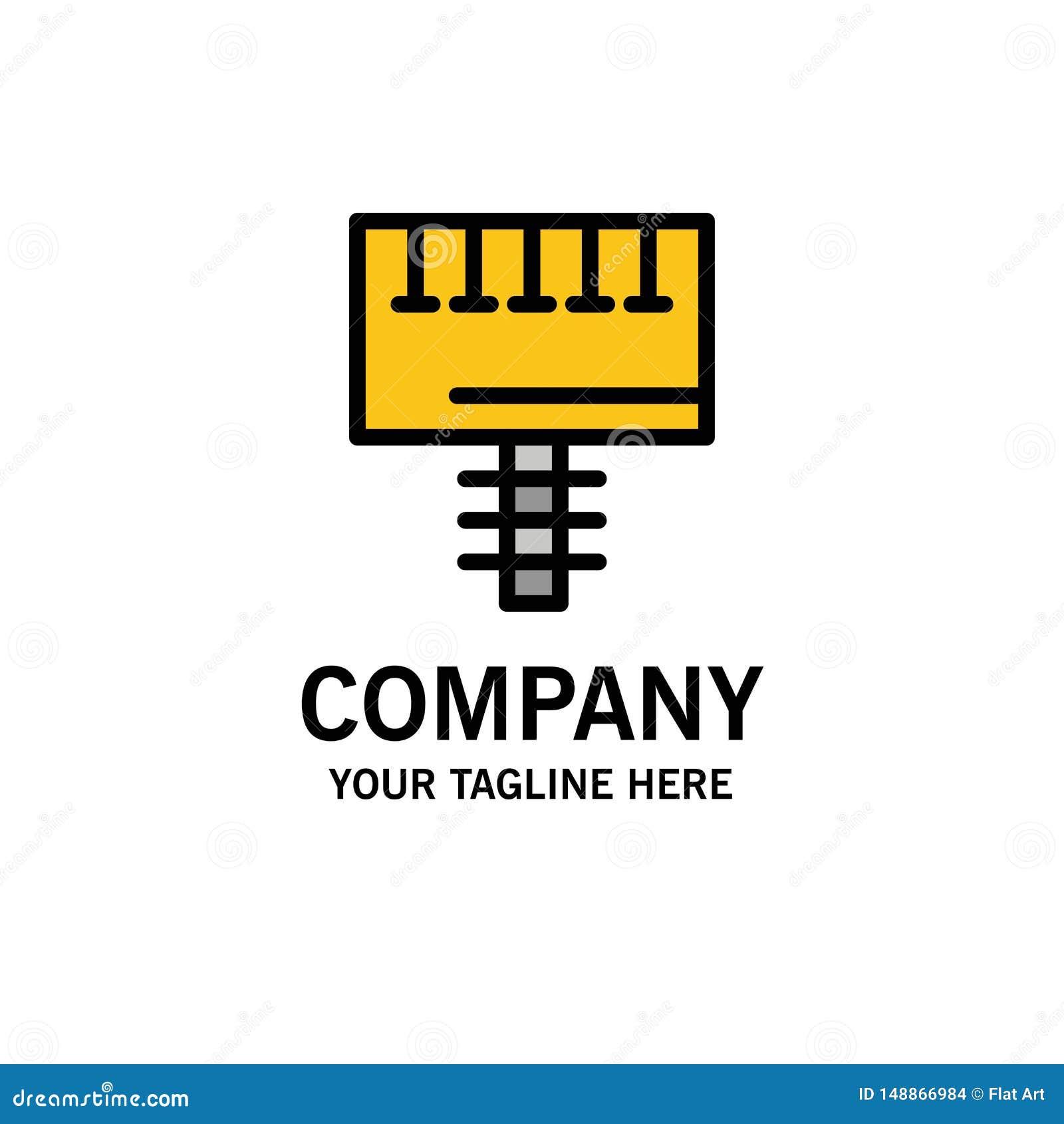 Reklama, reklama, deska, Signboard logo Biznesowy szablon p?aski kolor