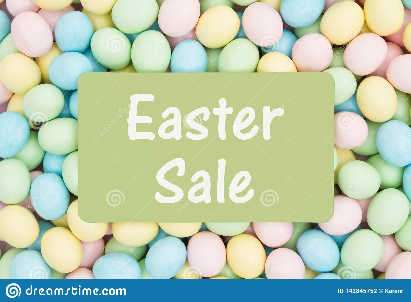 Reklama dla Wielkanocnej sprzeda?y