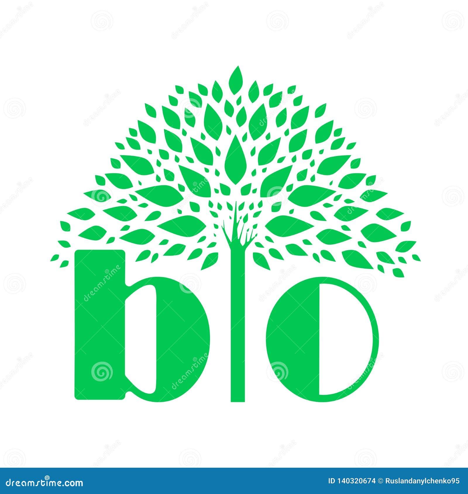 Reklamowy ŻYCIORYS logo Przykład wektorowy rysunek