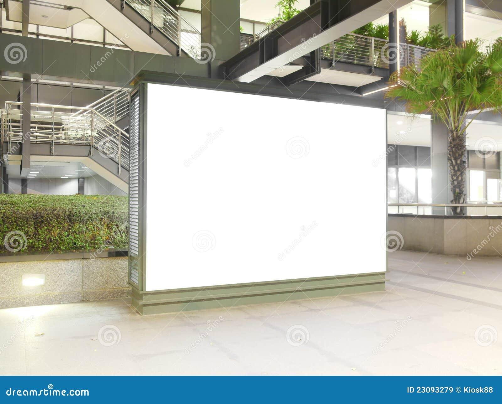 Reklamy pusta deska