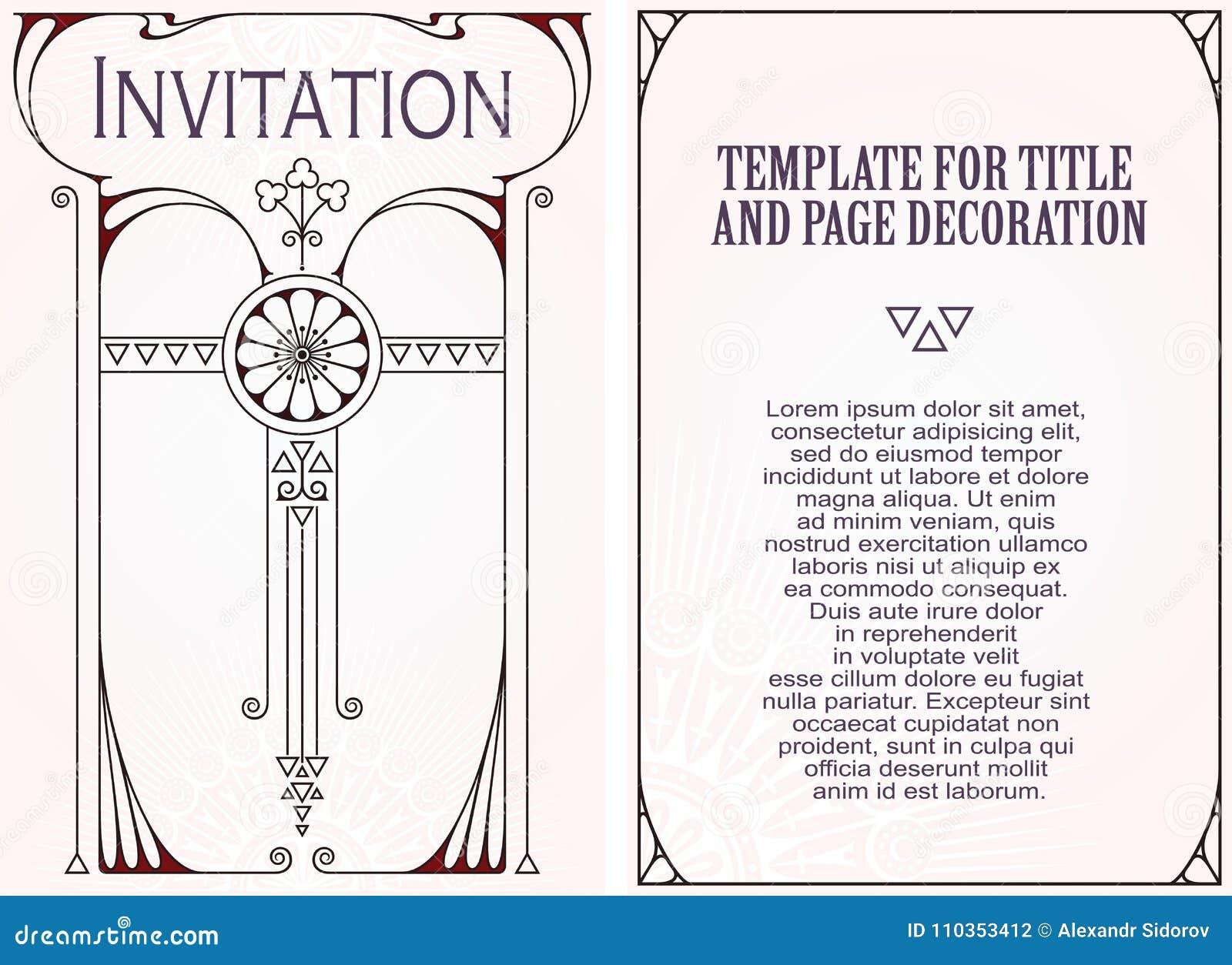 Reklamy, ulotka, zaproszenia lub kartka z pozdrowieniami,