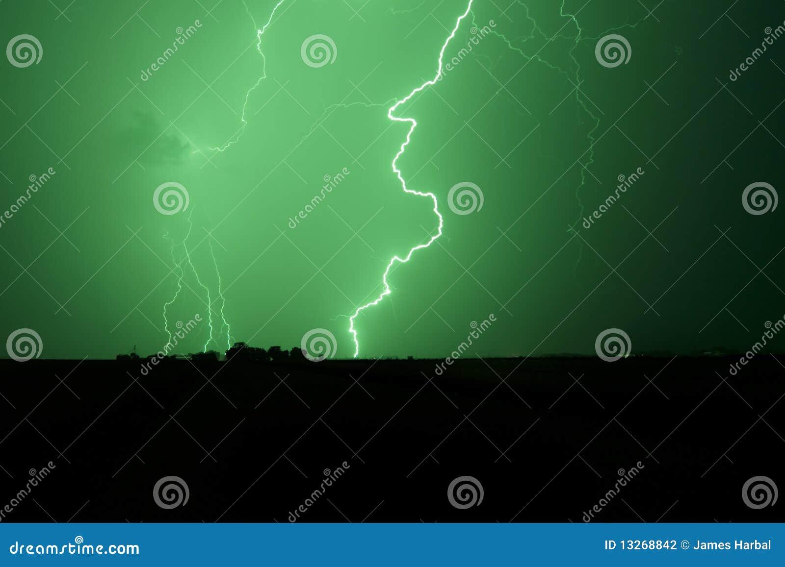 Relâmpago verde