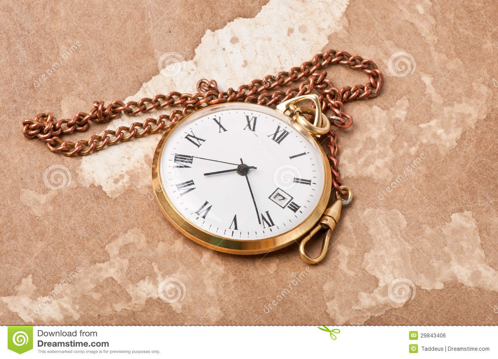 Relógio de bolso velho