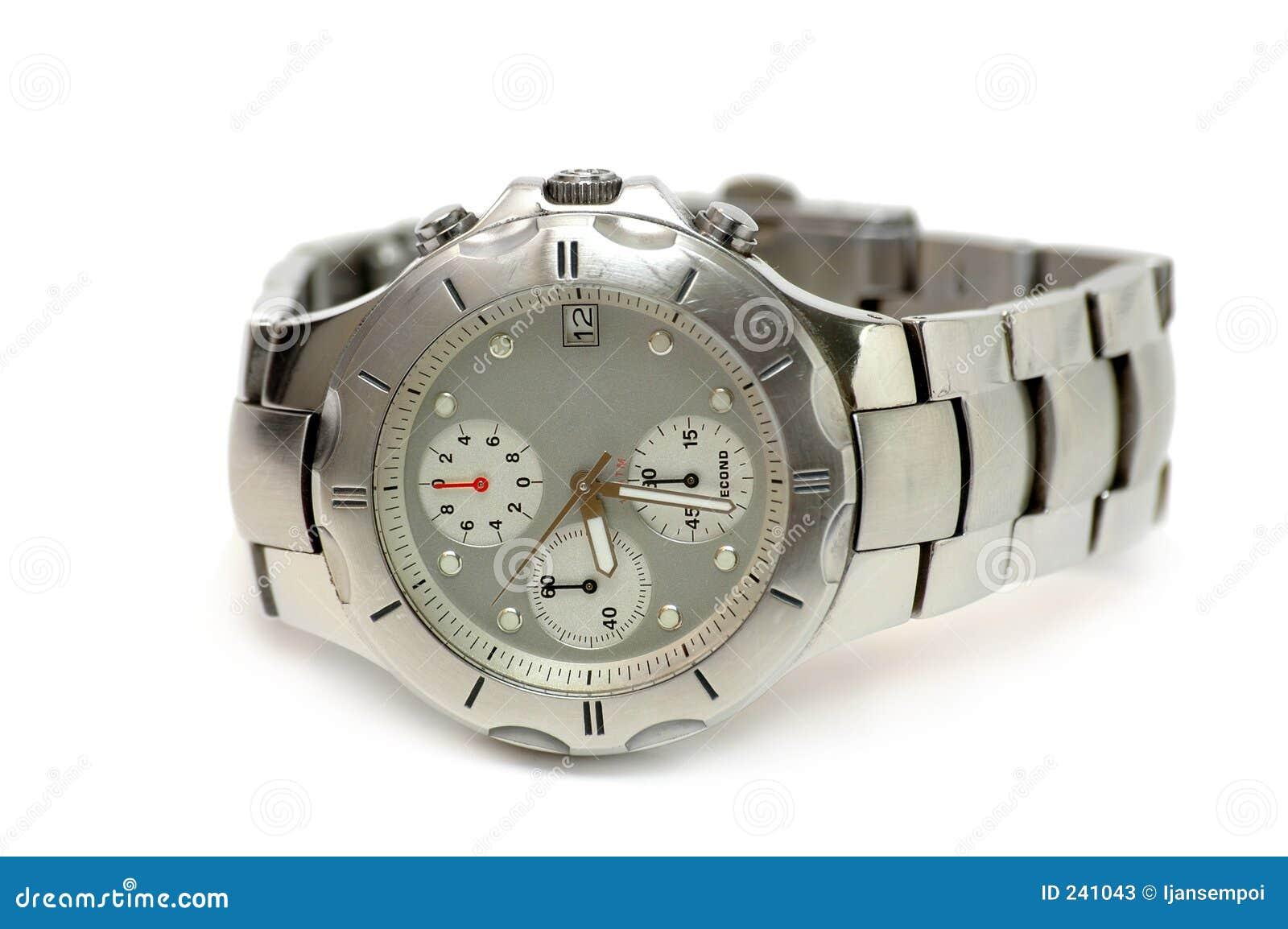 Relógio de prata