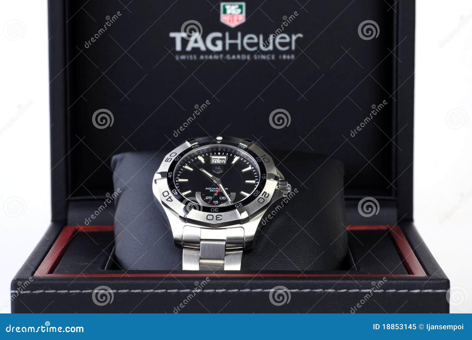 Relógio do aço inoxidável