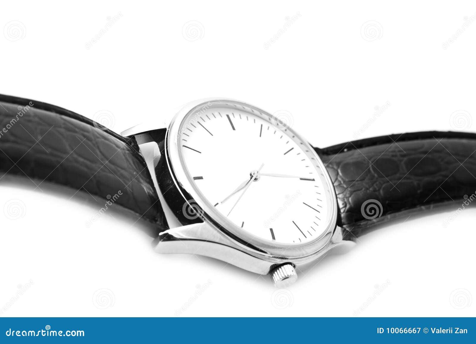 Relógios de pulso com uma cinta pequena preta