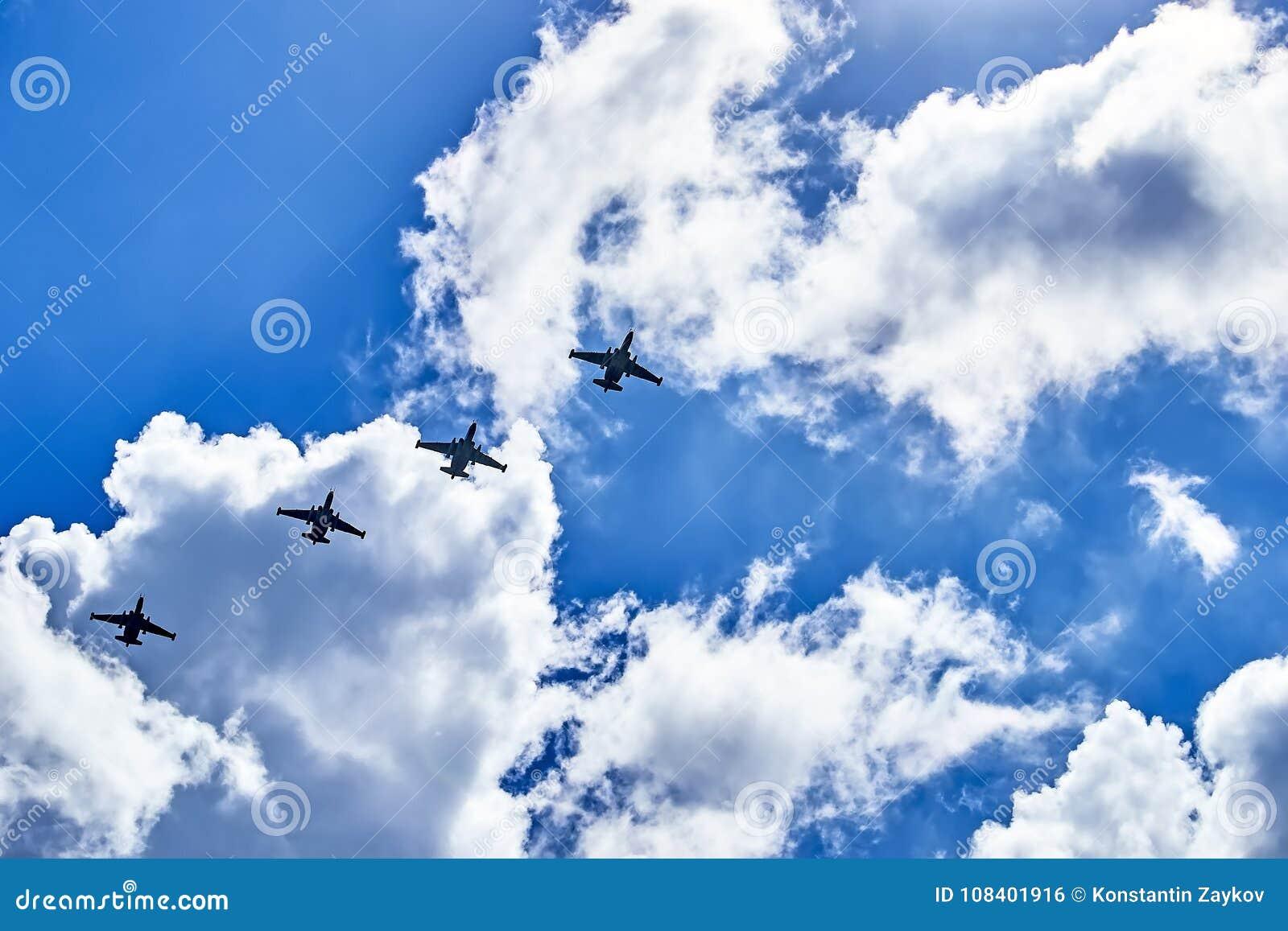 A relação de bombardeiros do combate