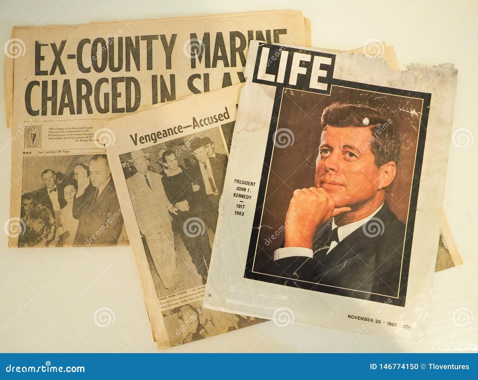 Relacja JFK i Lee Harvey Oswald zabójstwa