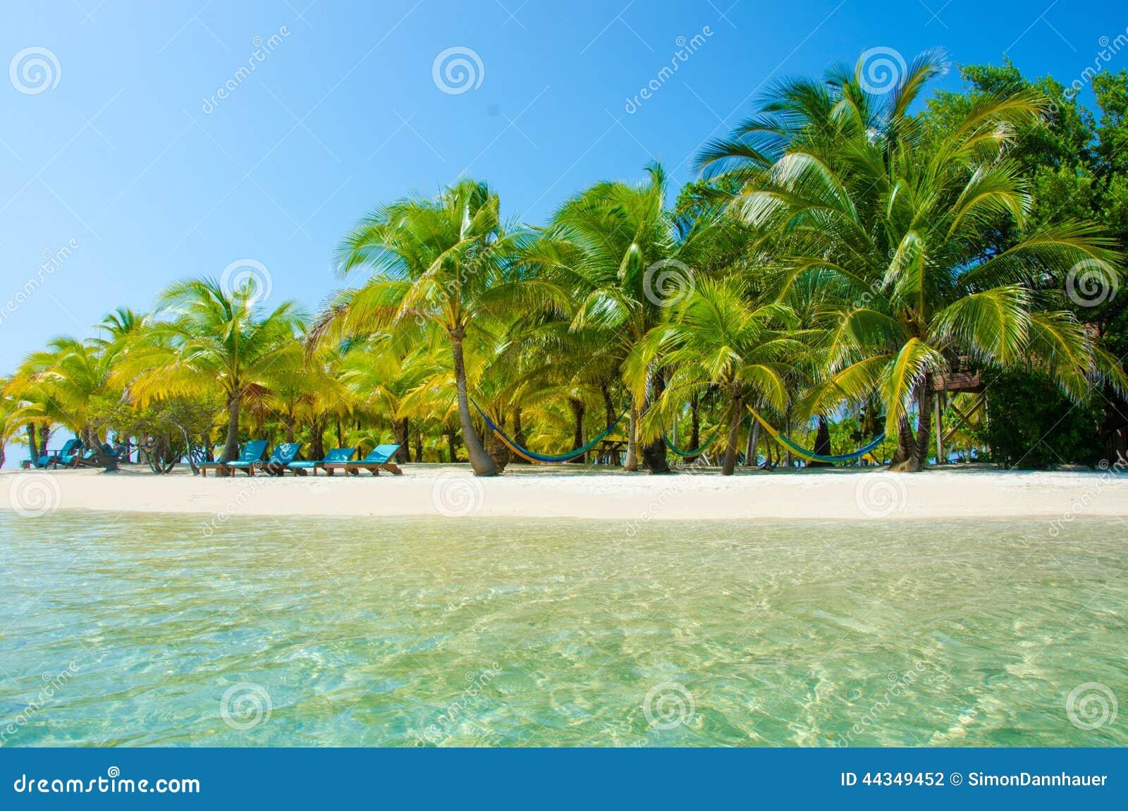 Relajación en la silla - isla hermosa