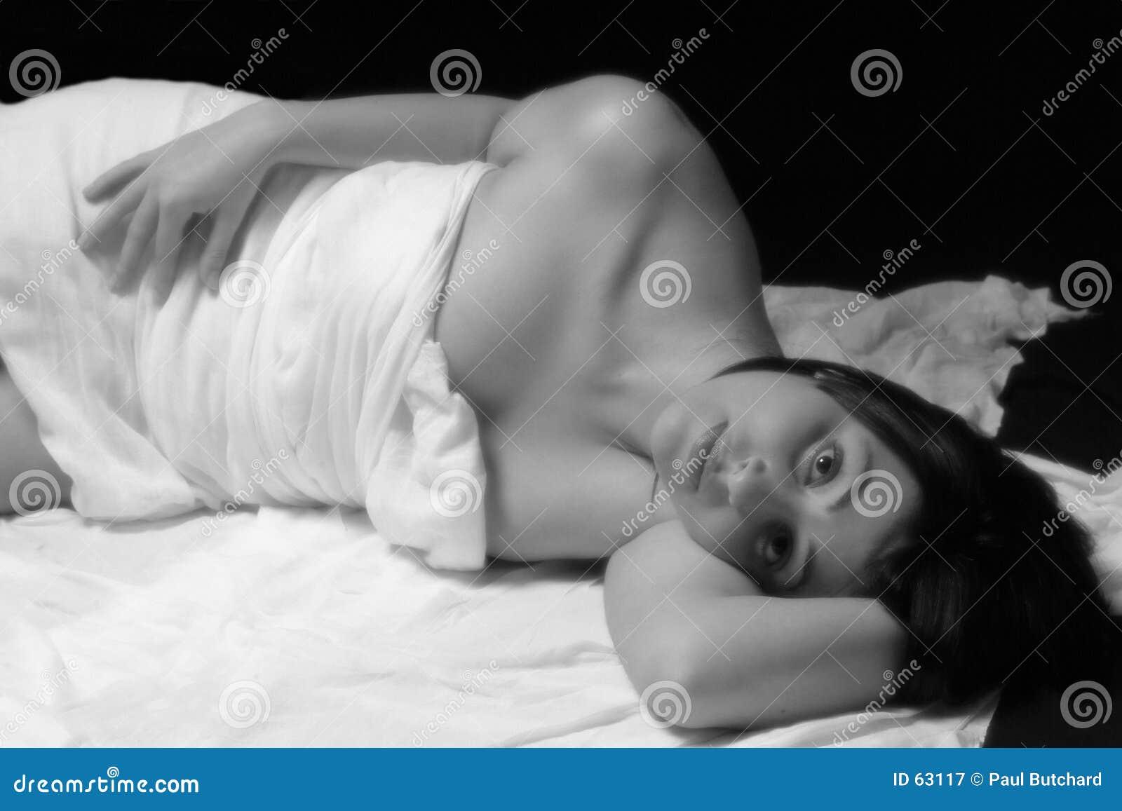 Relajante en negro y blanco