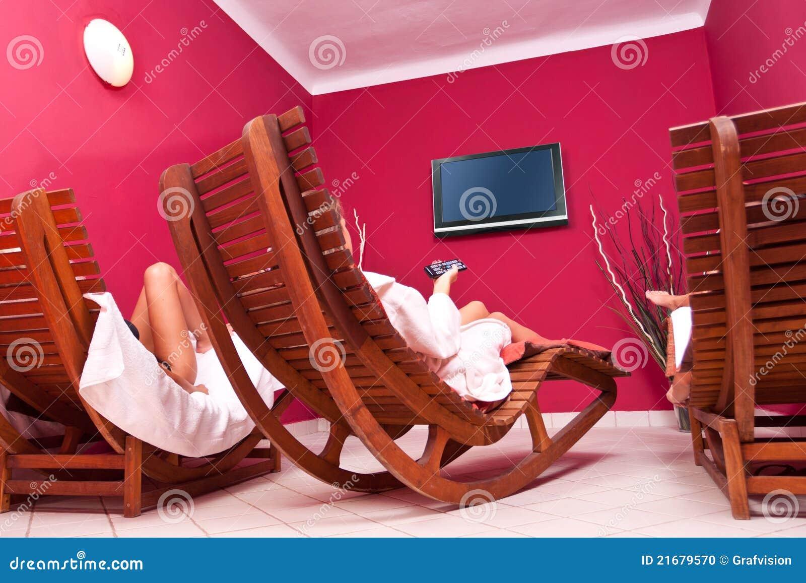 Relaksujący pokój