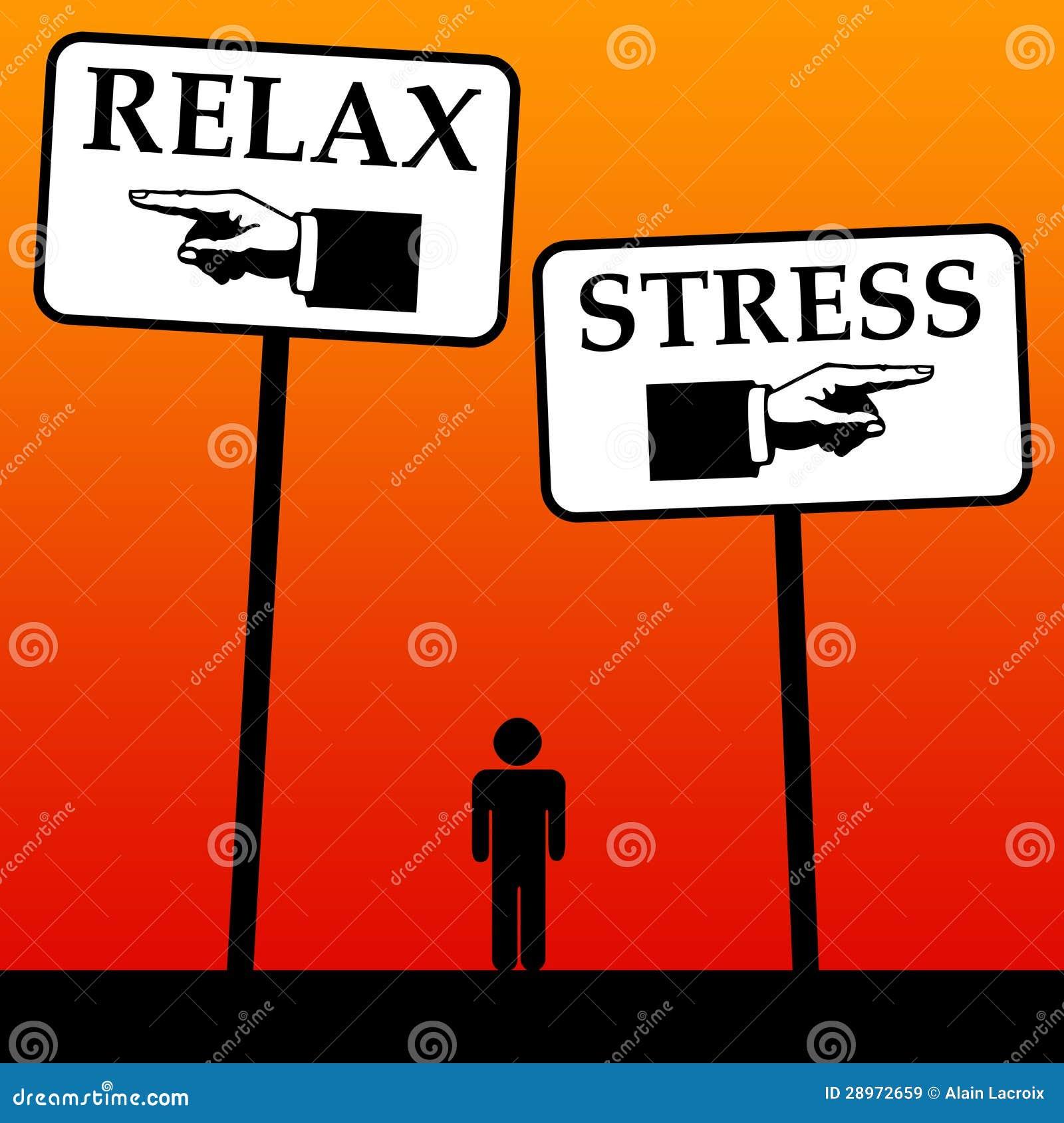 Relaksuje i stresuje się