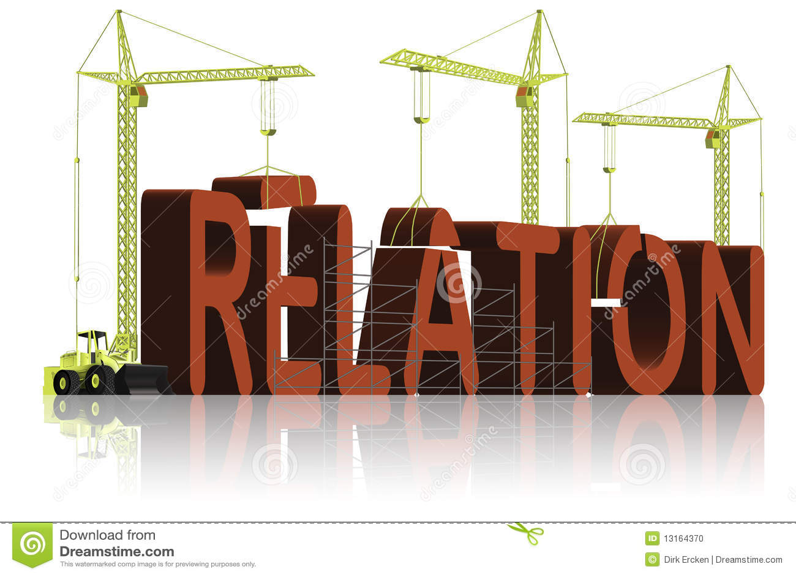 Relation Building Find Partner Love Relationship Stock Photo ...