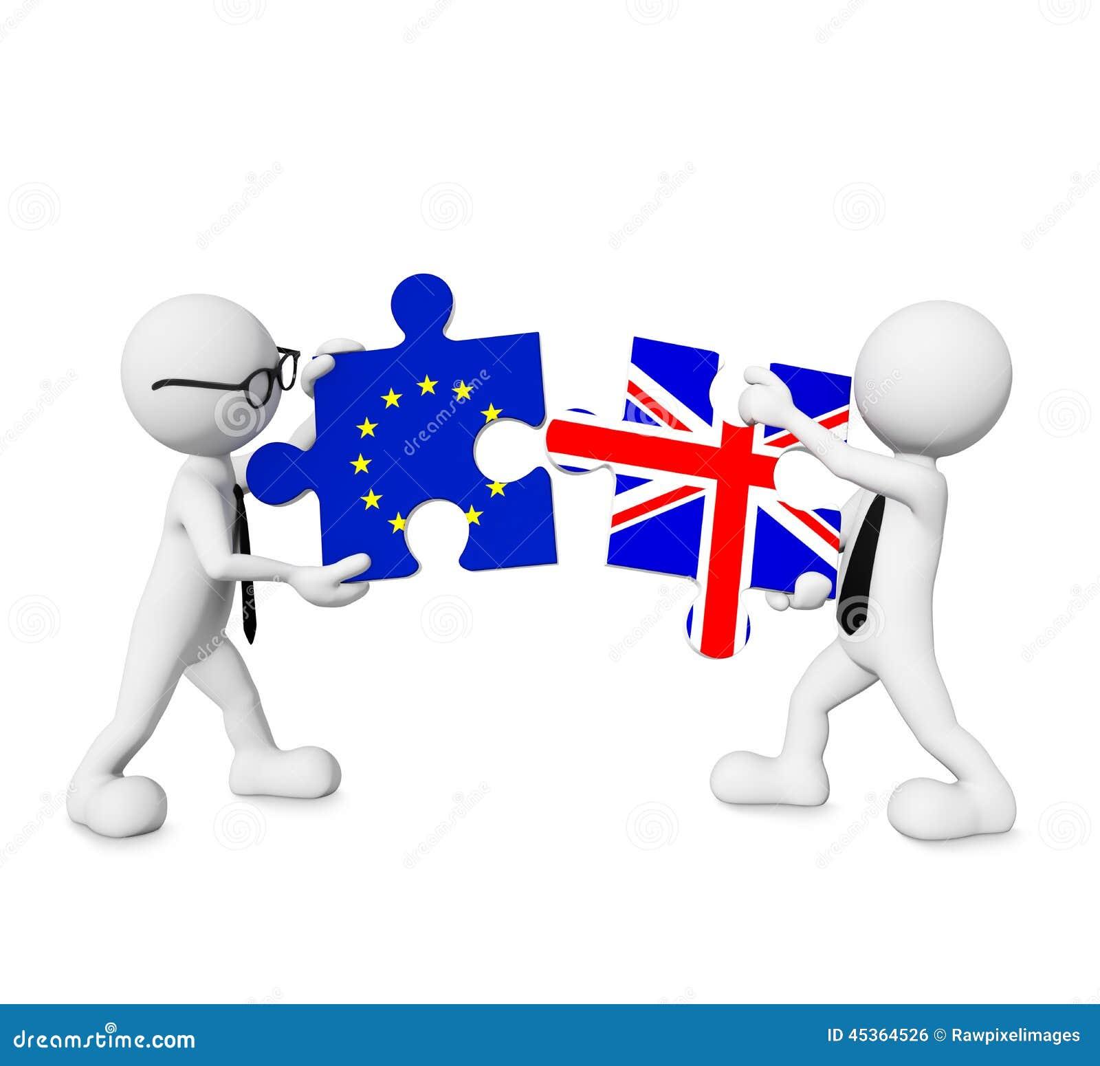 Relations denteuses de connexion de l Europe - de l Angleterre