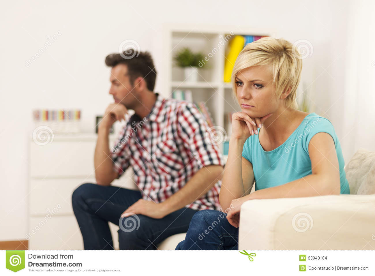 Relationship Conflict Stock Images Image 33940184