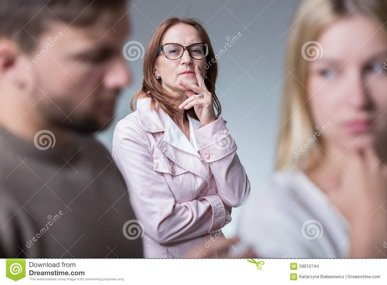 Relationships With Mother In Law Stock Photo Image Of Marriage Couple 59010744
