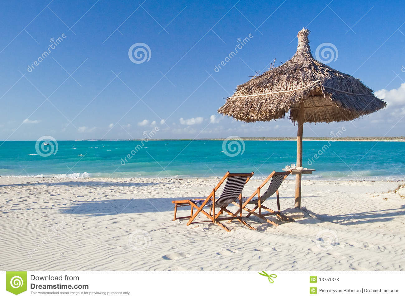 Relax On The Beach Royalty Free Stock Photos - Image: 13751378