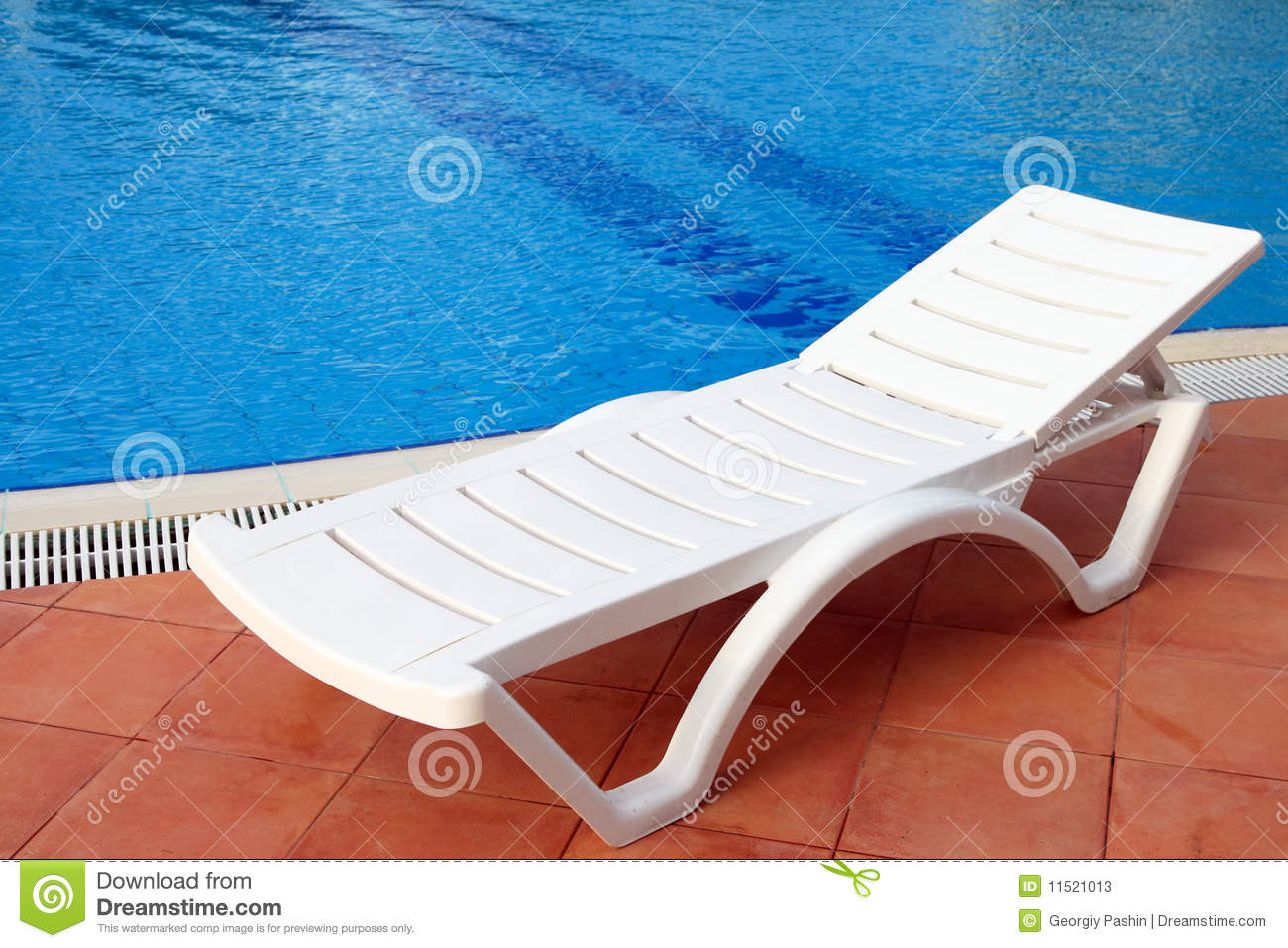 relax chair near the pool stock image  image of turquoise