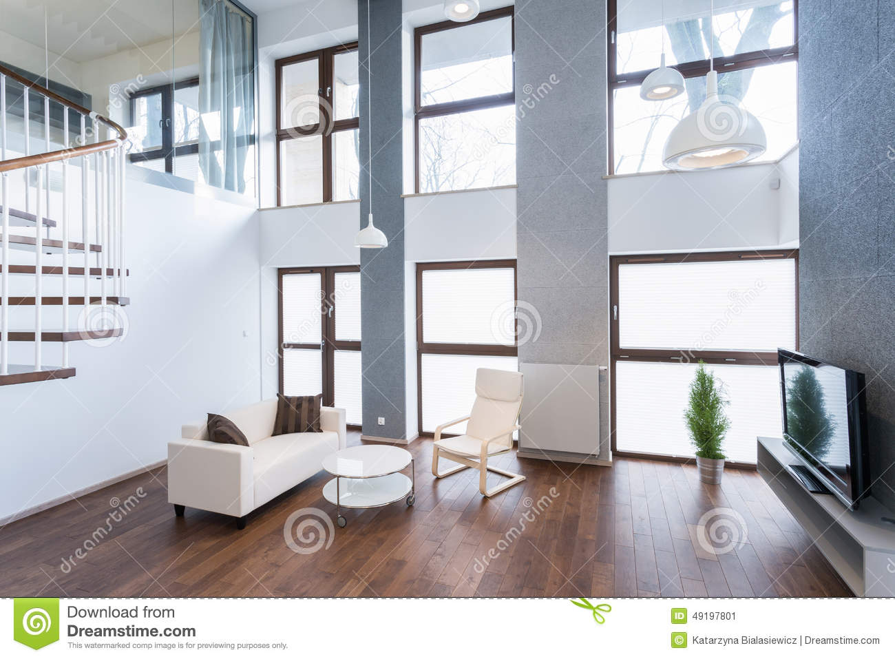 Relax space stock image. Image of modern, furniture, lounge - 49197801
