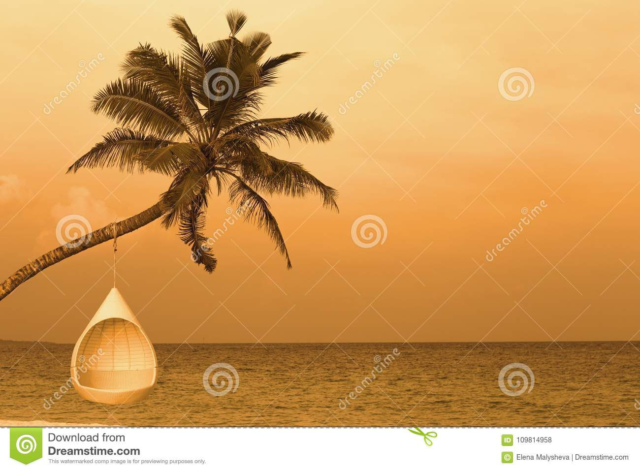 Swell Relax On A Tropical Island Stock Photo Image Of Beach Squirreltailoven Fun Painted Chair Ideas Images Squirreltailovenorg