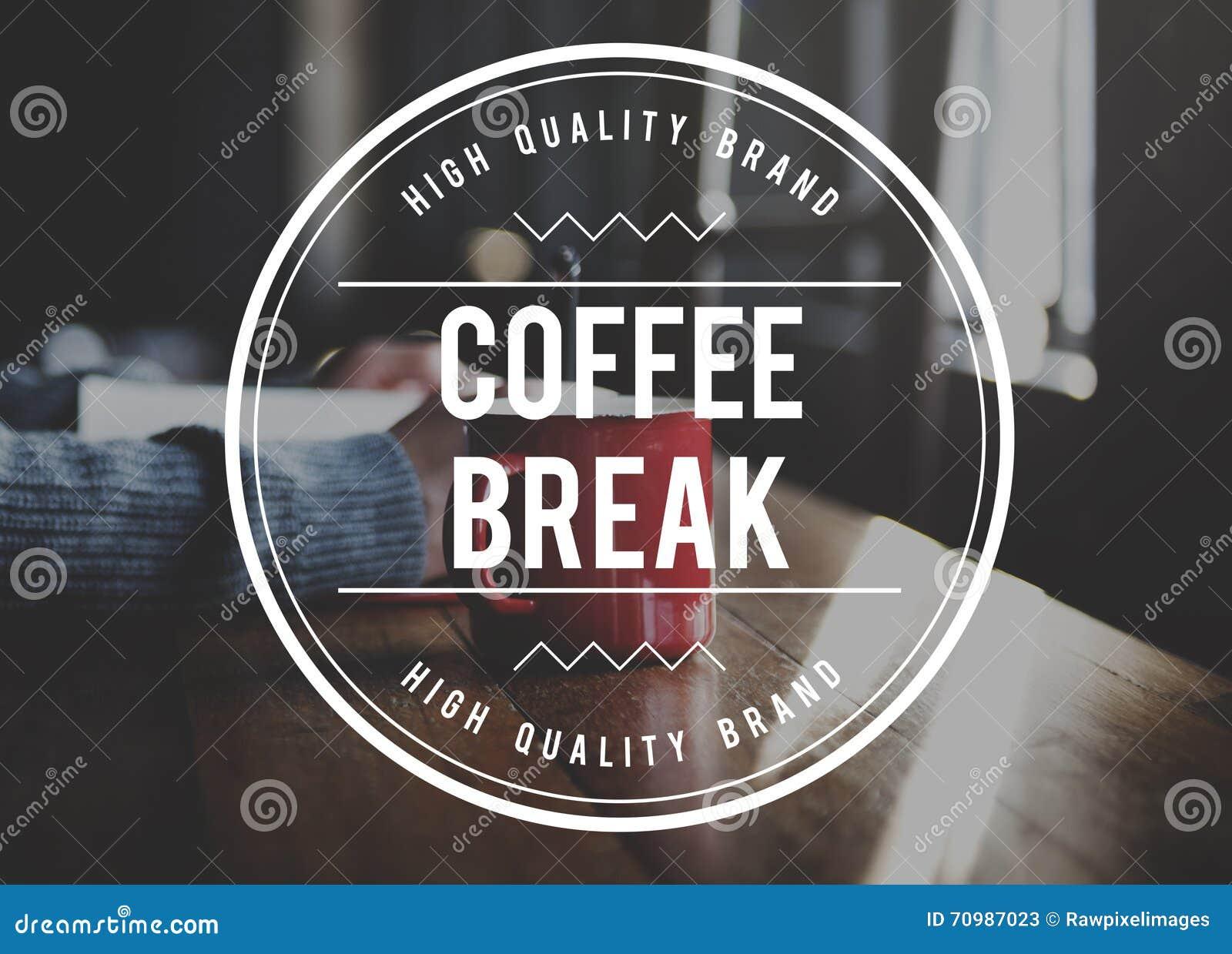 Relaxation de pause-café