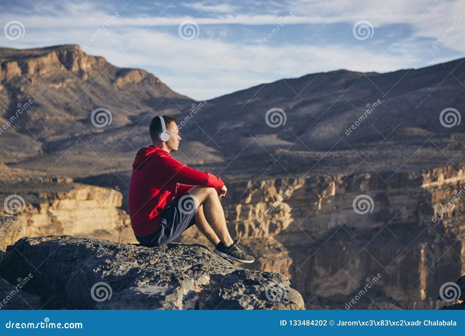 Relaxation en montagnes