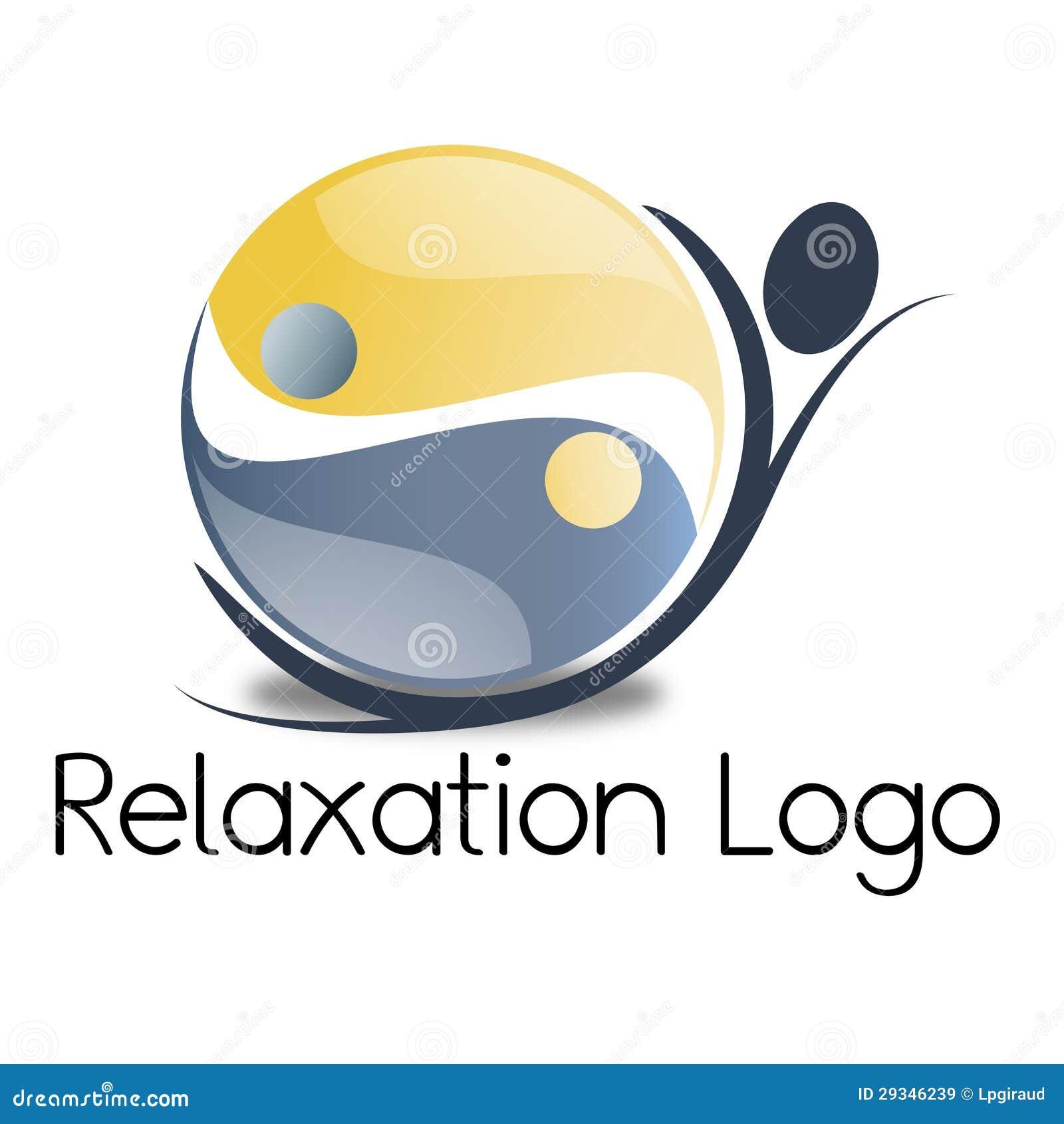 Relaxation Logo Royalty Free Stock Images - Image: 29346239