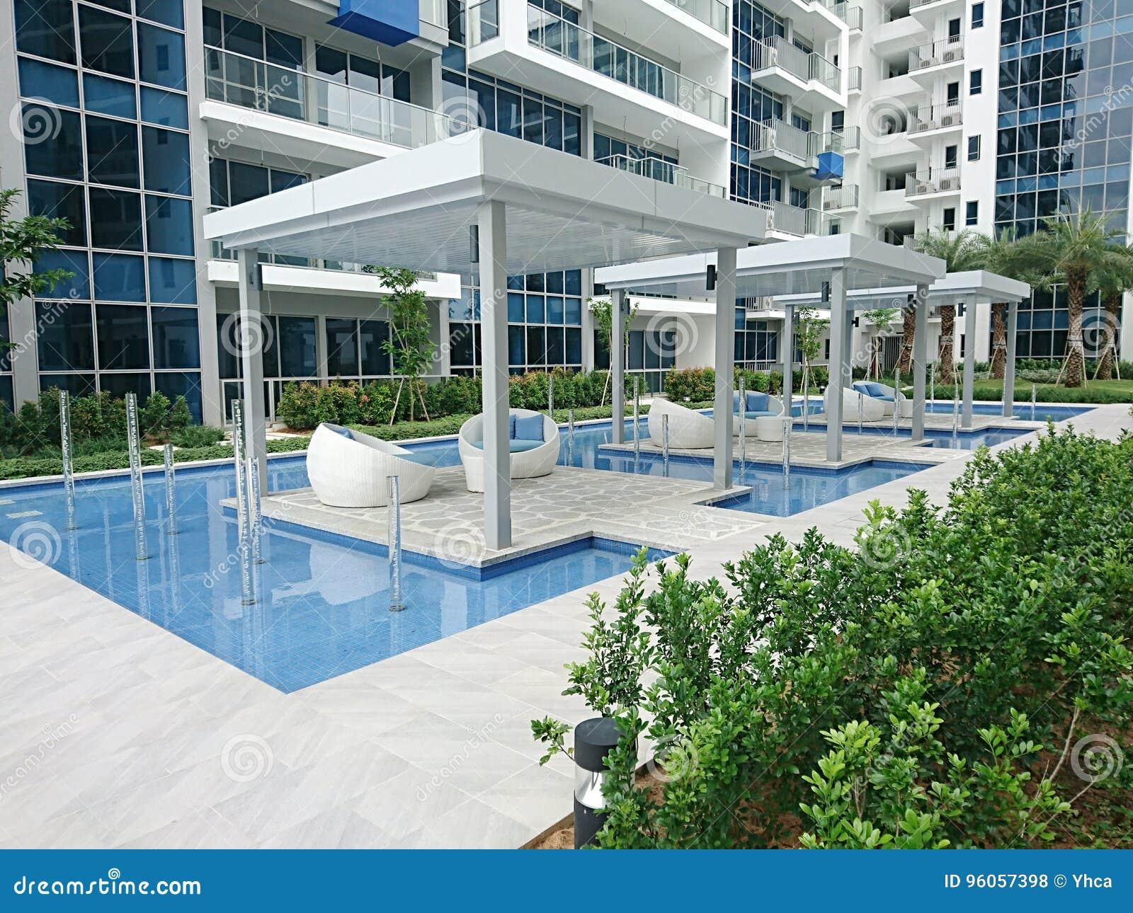 Relaxation par la piscine