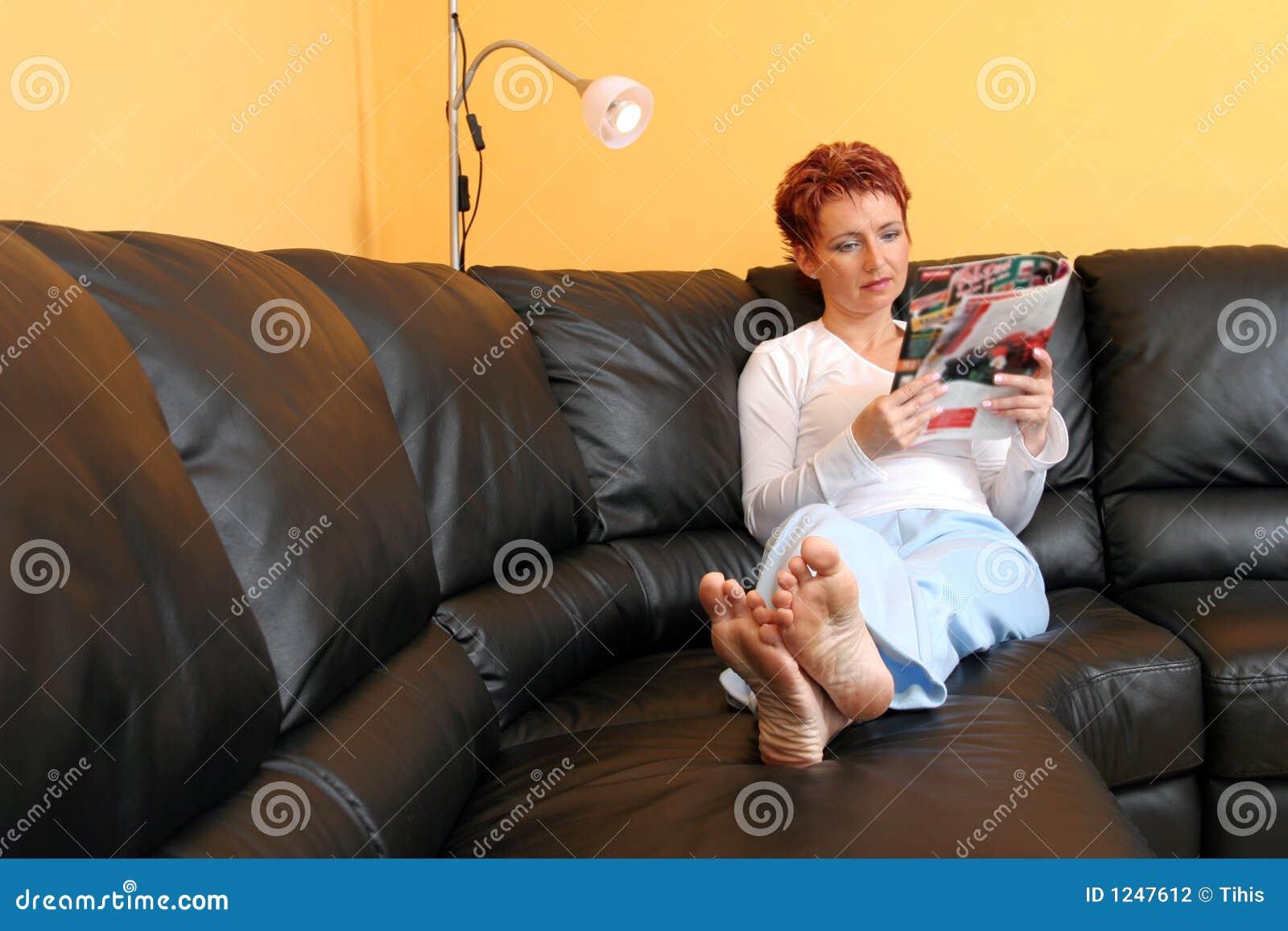 Relaxed женщина