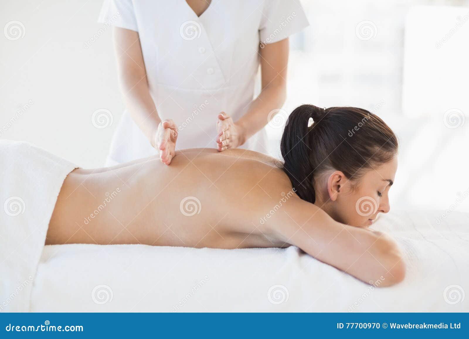 naked massage women