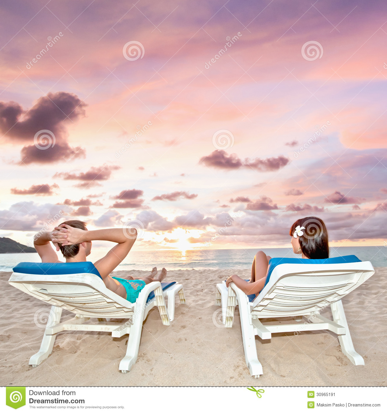 Couple At The Beach Stock Image Image Of Caucasian: Relaxing On Beach Stock Image. Image Of Relax, Shore