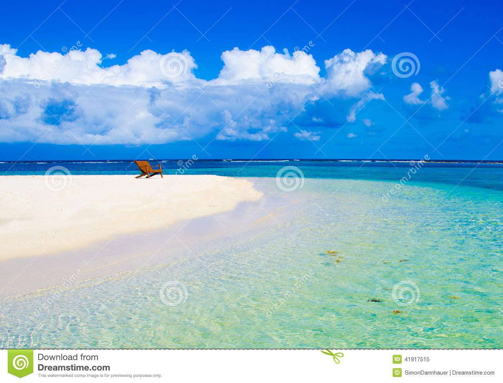 Relaxing on Chair - beautiful island